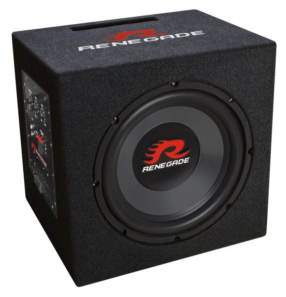Renegade RX1000A 25cm Active Powered Subbox