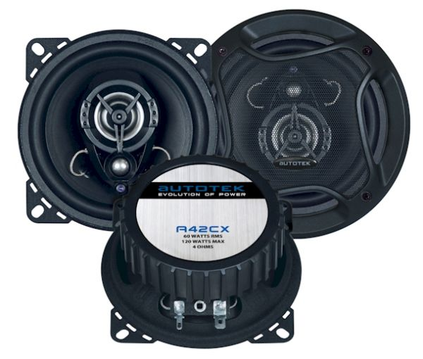 Autotek A42CX Street Machine 10cm Koaxial-System