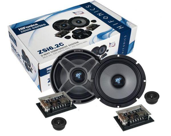 Hifonics Zeus 2-Wege System ZSI-6.2C