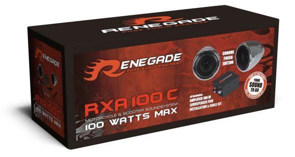 Renegade RXA100C Motorrad & Scooter Soundsystem