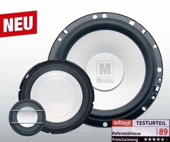 German-Maestro MS 654010 Active Nano 16cm 3-Wege-System