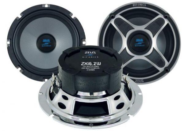 Hifonics Zeus Kickbass Woofer-Set ZSI-6.2W
