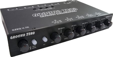 Ground Zero GZEQ 4.7X 4 Band Equalizer
