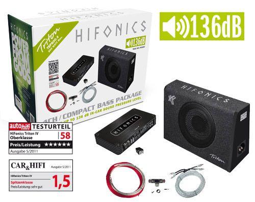 Hifonics Basspack 4CH TBP800.4