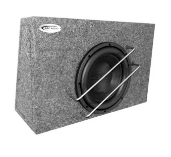 Arc Audio ARC 10CL-SH 25cm Flach-Subwooferbox