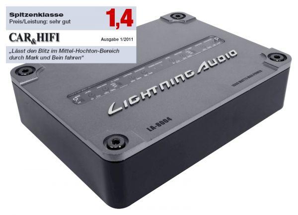 Lightning Audio LA-8004 SCD 4-Kanal Verstärker