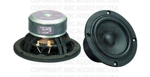 Arc Audio Black 4.0 10cm Tiefmitteltöner