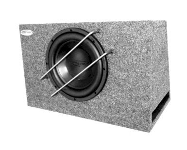 Arc Audio Black 10D4v2-BR 25cm Bassreflex-Subwoofer