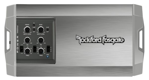 Rockford Fosgate TM400X4ad Power Marine 400 Watt Class-ad 4-Channel Amplifier