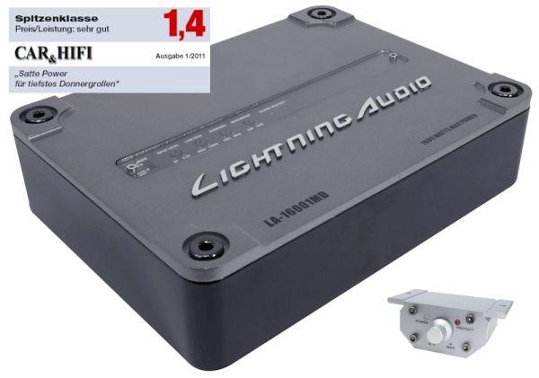 Lightning Audio LA-1600MD SCD Monoblock Verstärker
