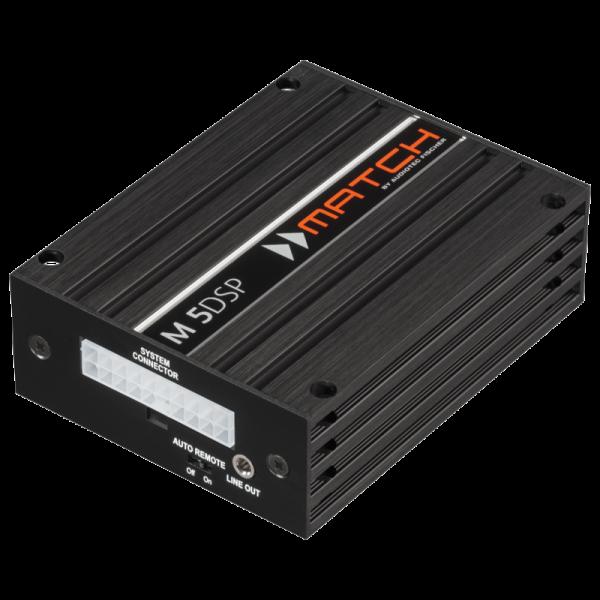 Match M 5DSP 5-Kanal micro Verstärker mit integriertem 7-Kanal DSP